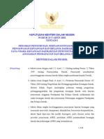 Kepmendagri No. 29 Tahun 2002 - Pedoman Pelaksanaan APBD