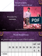 19094989 Apparel Retail in India Ppt