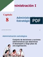CAP. 8 ADMINISTRACIÓN ESTRATÉGICA