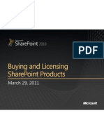 SharePoint Enterprise Licensing Deck - 14Apr2011