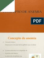 1 Concepto de Anemia 2012