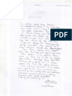 Geetika Suicide Note