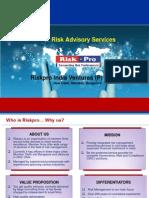 IT Risk Advisory Brochure