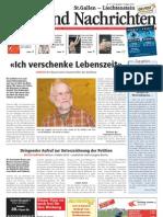ZeitBoerse Oberland Nachrichten, Artikel vom 31. März 2011