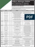 HPCL Biofuels Ltd Various Posts 70812
