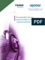 Uponor Conducte Preizolate (LHD) 06 2012