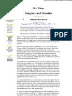 Jungians and Gnostics