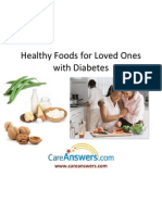 Healthy Foods for Loved Ones with Diabetes