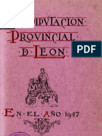 Memoria 1947 de la DIPUTACION DE LEON