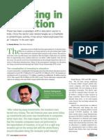 Investing in Education - Digital Learning - April 2012 - Kapil Khandelwal - EquNev Capital