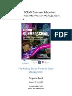 ISCRAM Summer School 2012  Program Book
