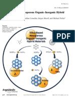 Silica-Based Mesoporous Organic–Inorganic Hybrid Materials