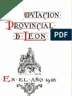 Memoria 1946 Diputacion Provincial de Leon
