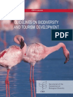 Guidelines on biodiversity and tourism development