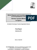 German Tourism market to Cyprus