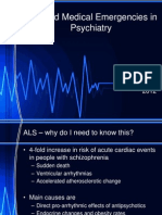 ALS and Medical Emergencies in Psychiatry
