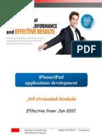 Presenter Manual - iPhone Applications Development (Job Oriented Module)