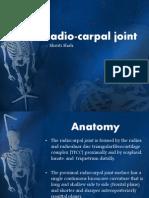 Radio Carpal Joint