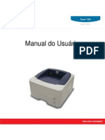 Guia do Usuario Xerox 3250 (EN)