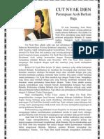 Biografi Tokoh Cut Nyak Dien