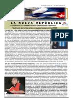 LNR 45 (Revista La Nueva Republica) Cuba CID 7 Agosto 2012