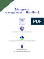 Mangrove Management Handbook Fao