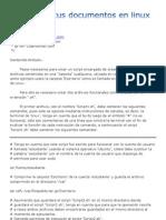 Restaurar Documentos en Linux + Rebien + Ubuntu