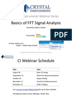 Basics of FFT Signal Analysis