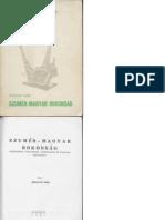 Szelényi Imre  -  Szumér - Magyar rokonság 1961.