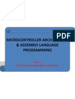 Chapter2-Microcontroller Architecture & Assembly Language Pt2