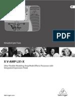 Behringer X v-Amp Manuale ITA