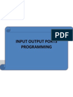 Chapter3-Input Output Ports Programming