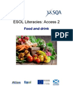 ESOL Literacies Access 2 Food and Drink