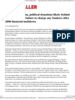 Report Cronyism, Political Donations Likely Behind Obama, Holde