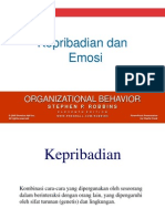 Pertemuan 2 - Kepribadian Emosi & Persepsi & Pengambilan Keputusan - Person-Percep-DecMake