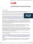 USDA partnering with Mexico to boost food stamp participation «