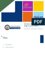 Infrastructure Asterisk et Digium pour Soléa