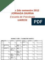 semestre psicologia arcis