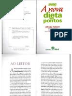 Livro - A Nova Dieta Dos Pontos