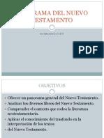 Panorama de Nuevo Testamento Intro