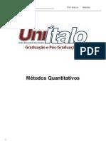 Matemática I - Métodos Quantitativos.doc