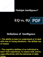 IQ VS EQ