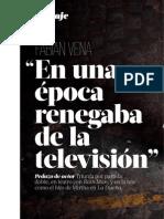 Fabian Vena. Entrevista.