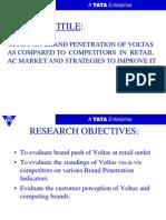 Voltas Project Presentation Final