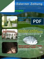 Die Erste Eslarner Zeitung, 08.2012 (verkürzte Ferienausgabe)