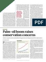 Palm Oil Raises