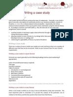 Writing a Case Study