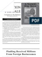 A Nation for Sale - Corruption in the Bahamas