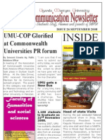Uganda Martyrs University Communication Newsletter