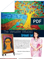 The Versatile Virtuoso - Srimati Lal, a painter, an artist, a critic, a curator, a poet and a writer